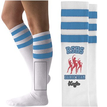 RSHS Dance team socks