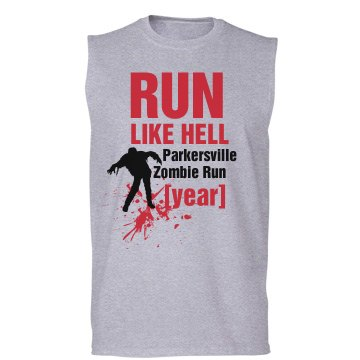 Run Like Hell Zombie