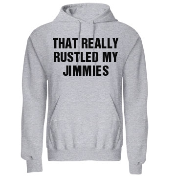 Rustled My Jimmies Meme Unisex Gildan Heavy Blend Hoodie