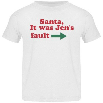 Santa, It Was Sis' Fault