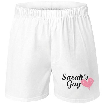 Sarah's Guy Custom Underwear