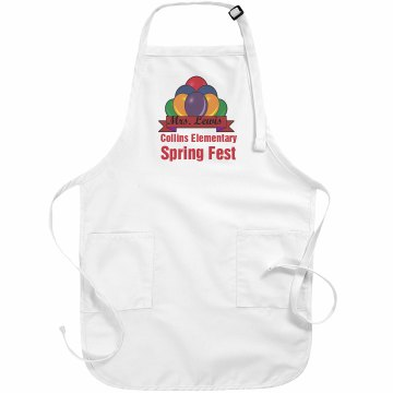 School Spring Fest Apron