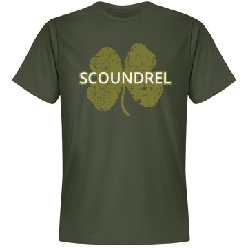 Scoundrel St. Patrick's Unisex Anvil Lightweight Fashion Tee