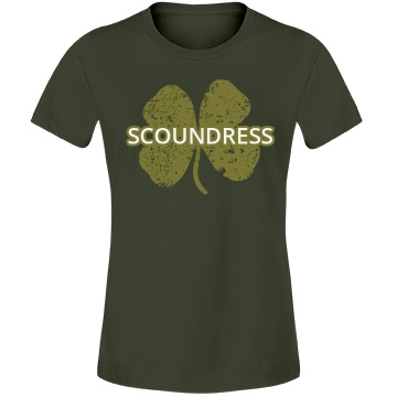 Scoundress St. Patrick's Misses Fit Anvil Lightweight Fashion Tee
