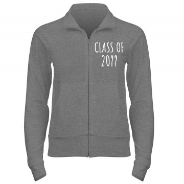 Screw Football Lets Cheer Junior Fit Bella Cadet Full Zip Track Jacket