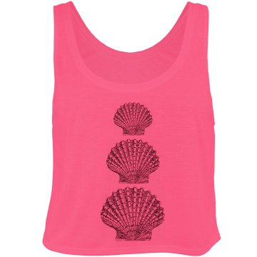 Seashell Fashion Top