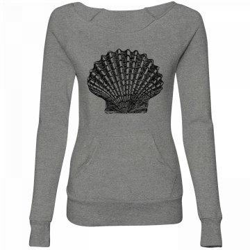 Seashell Graphic Sweater