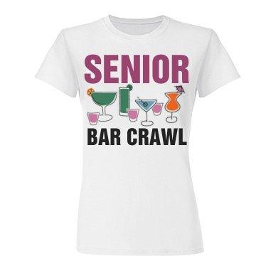 Senior Bar Crawl Drinks