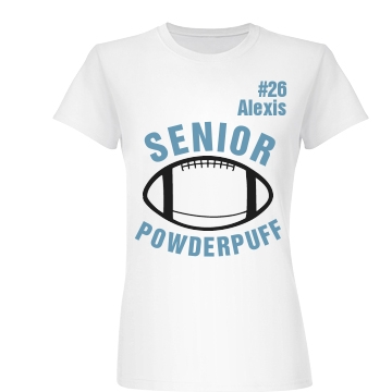 Senior Powderpuff Junior Fit Basic Bella Favorite Tee