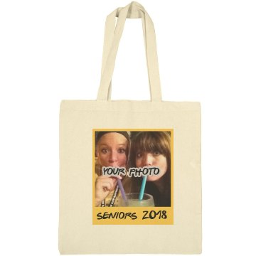 Seniors Custom Photo Tote