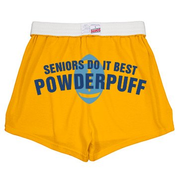 Seniors Do It Best Shorts Junior Fit Soffe Cheer Shorts