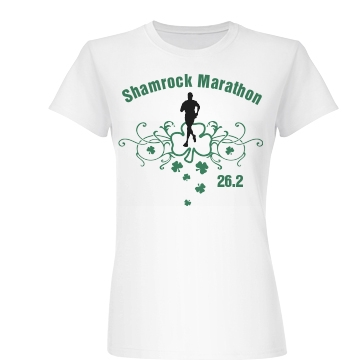 Shamrock Marathon Junior Fit Basic Bella Favorite Tee