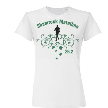 Shamrock Marathon Junior Fit Bas