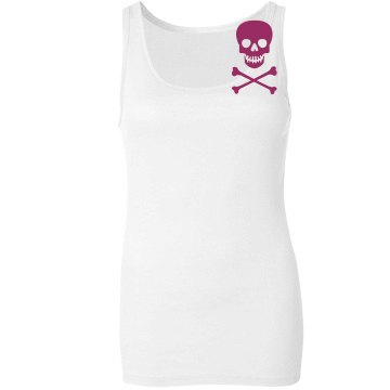 Sherry's First Mate Junior Fit Bella Sheer Longer Length Rib Tank Top