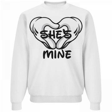 She's mine - crew neck