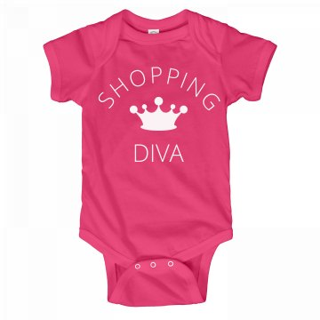Shopping Diva Onesie