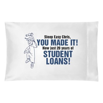 Sleep Easy College Grad