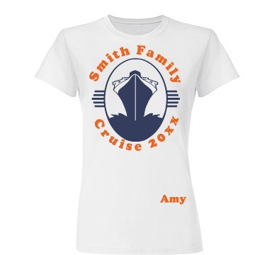 Smith Family Cruise Tee