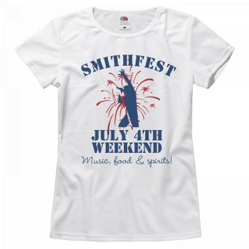 Smithfest Weekend Tee
