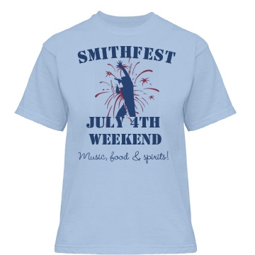 Smithfest Weekend Tee Misses Relaxed Fit Ba