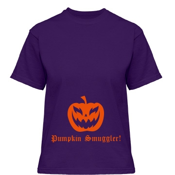 Smuggler Of Pumpkins Misses Relaxed Fit Gildan Heavy Cotton Tee
