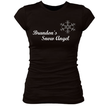 Snow Angel Junior Fit Bella Sheer Longer Length Rib Tee