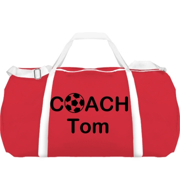 Soccer Coach Tom Augusta Sport Roll Bag