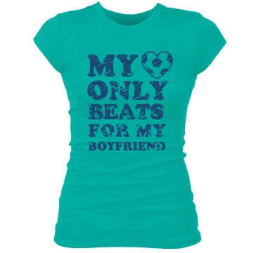 Soccer Girlfriend Junior Fit Bella Sheer Longer Length Rib Tee