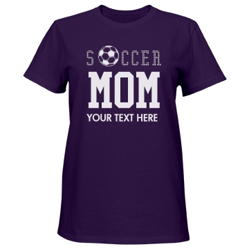 Soccer Mom Ball Misses Relaxed Fit Port & Company Essential Tee