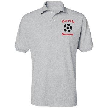 Soccer Polo Unisex Jerzees Spotshield Polo Shirt