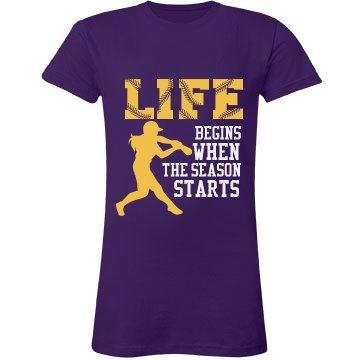 Softball Season Shirt