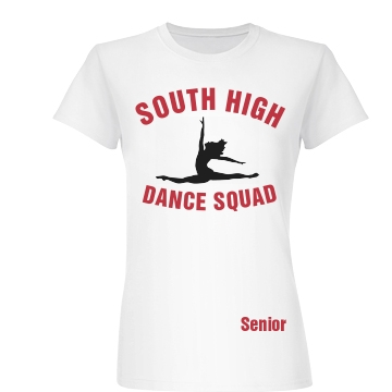 South High Dance Squad Junior Fit Basic Bella Favorite Tee