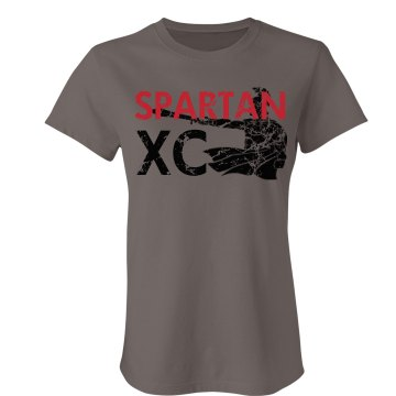 Spartan Cross Country Junior Fit Bella Favorite Tee