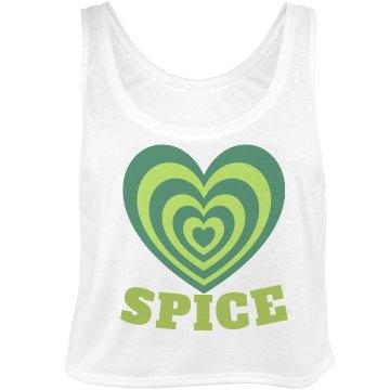 Spice Best Friend Bella Flowy Boxy Lightweight Crop Top Tank Top