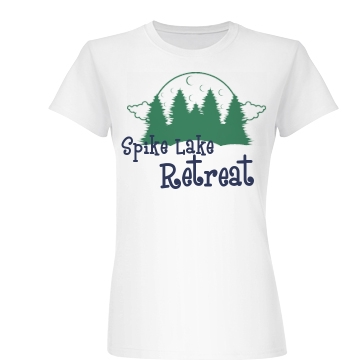 Spike Lake Retreat Junior Fit Basic Bella Favorite Tee