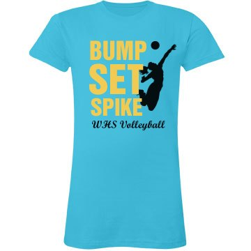 Spike Volleyball Tee