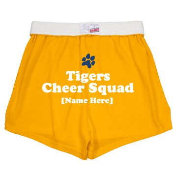 Sports Cheer Squad Junior Fit Soffe Cheer Shorts
