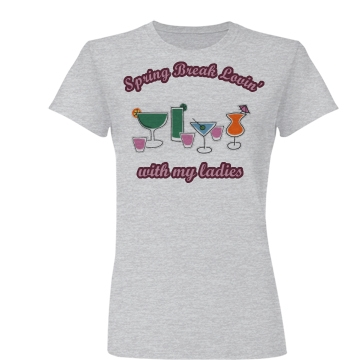 Spring Break Lovin' Junior Fit Basic Bella Favorite Tee