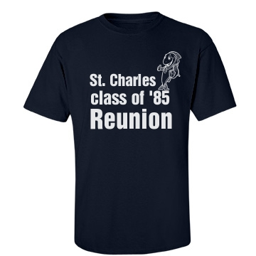 St. Charles Class Reunion Unisex Gildan Heavy Cotton Crew Neck Tee