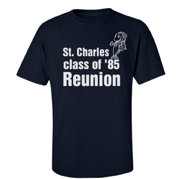 St. Charles Class Reunion Unisex Port & Company Essential Tee