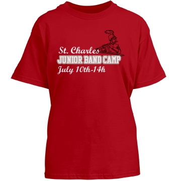 St. Charles Junior Band Youth Gildan Heavy Cotton Crew Neck Tee
