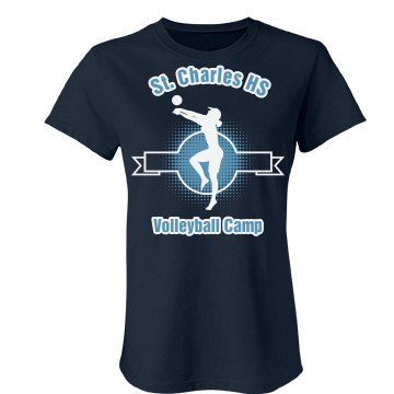 St. Charles Volleyball Junior Fit Bella Favorite Tee