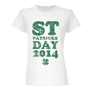 St Patrick's Day 2014 Junior Fit Basic Bella Favorite Tee