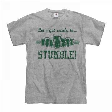 St Patricks Get Ready To Stumble