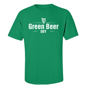 St Patricks Green Beer