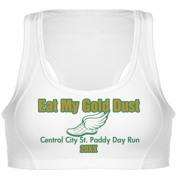 St. Patrick's Sports Bra