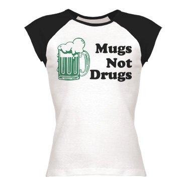 St. Pat's Mugs Not Drugs