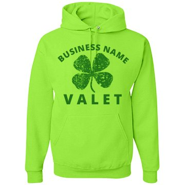 St. Patty's Valet Design