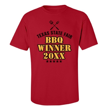 State Fair BBQ Winner Unisex Port & Company Essential Tee