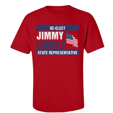 State Rep Election Tee Unisex Gildan Heavy Cotton Crew Neck Tee